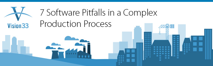 7 Software Pitfalls in a Complex Production Process