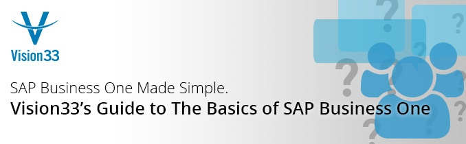 Guide to the Basics of SAP Business One