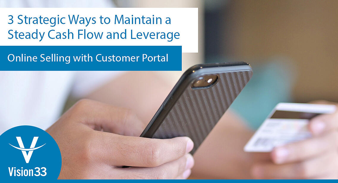 3 strategic ways to leverage online selling with Customer portal - no button
