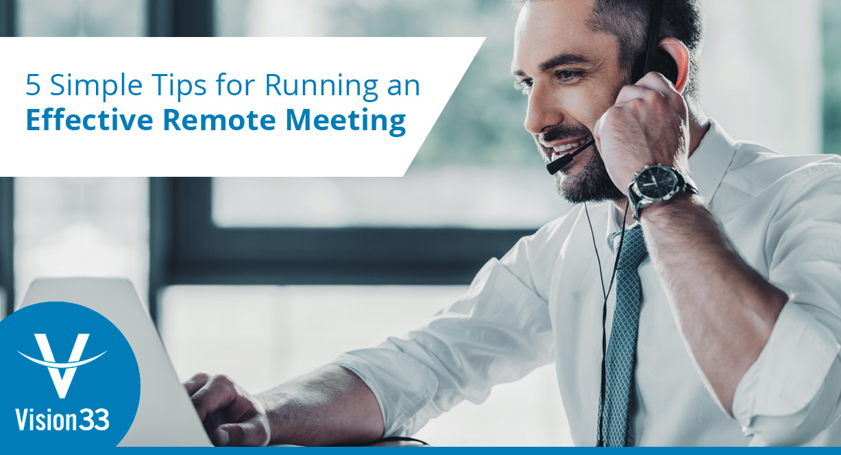 effective Remote meetings