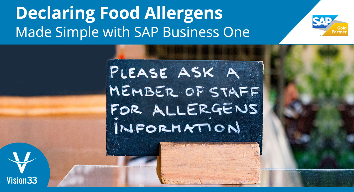 SAP Business One food and beverage