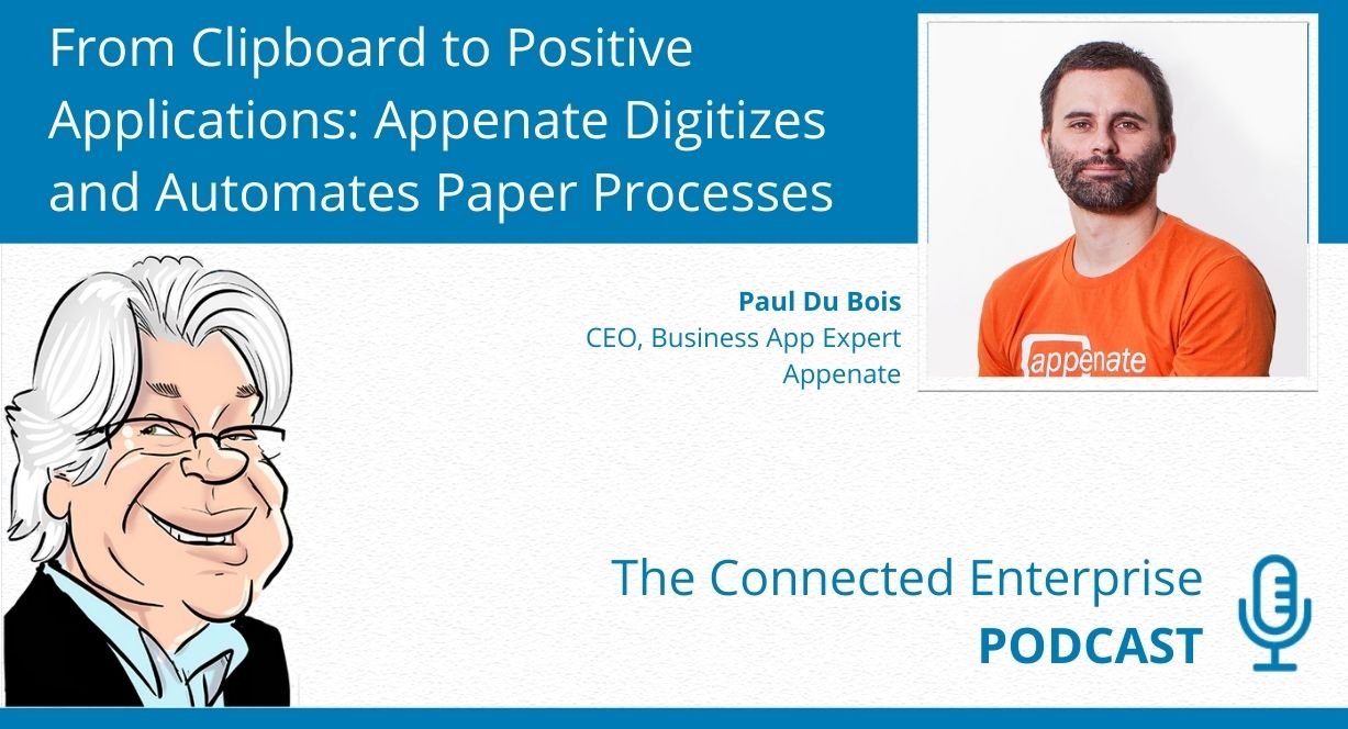 Small Business Tips - The Connected Enterprise Podcast with Paul Du Bois of Appenate