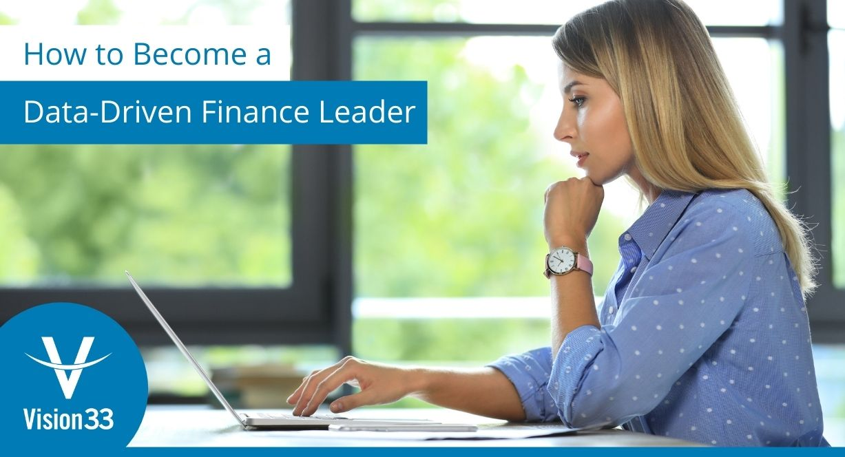 How to become a data-driven finance leader