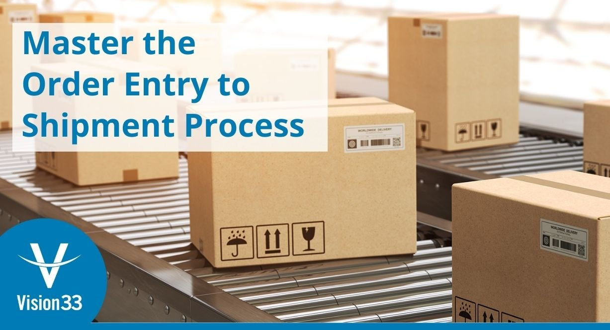 Small Business Tips - master the order entry to shipment process