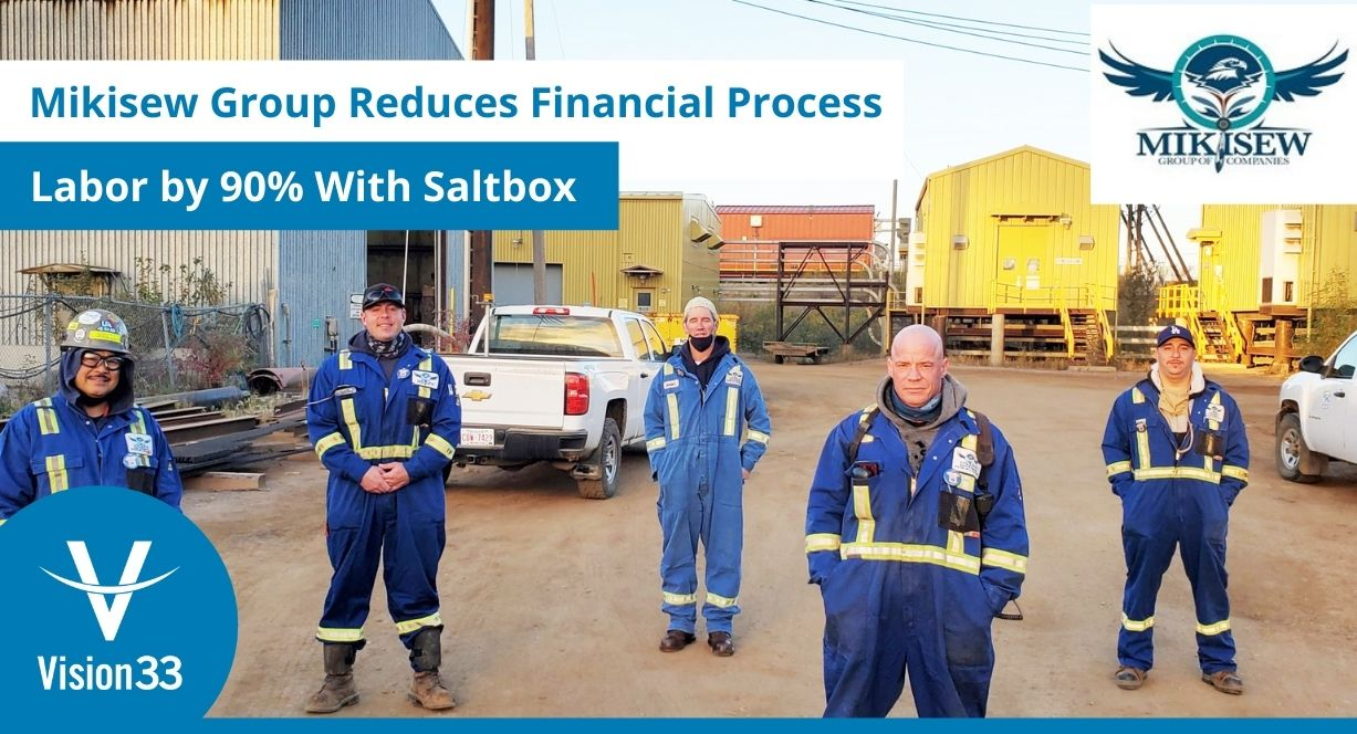 Financial process labor reduction with Saltbox