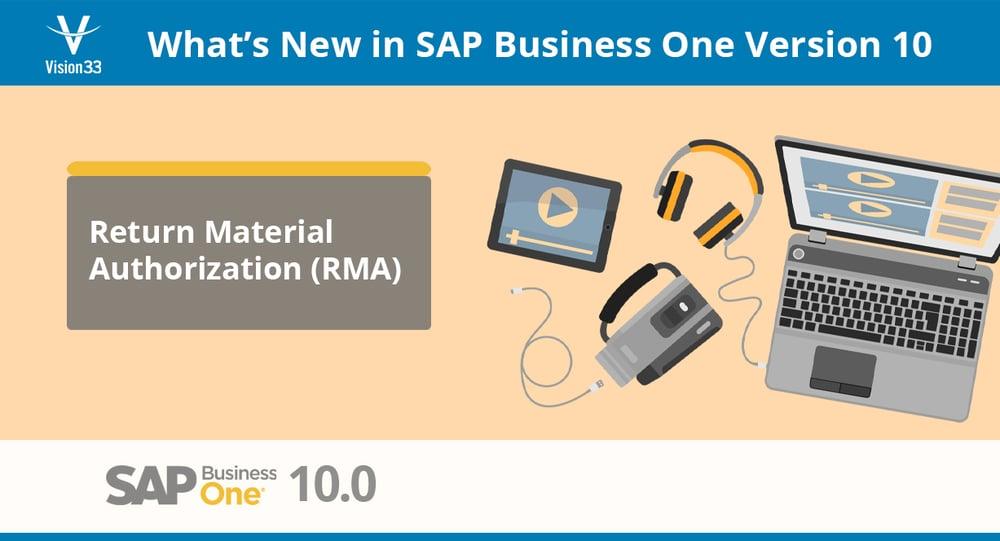 SAP Business One RMA