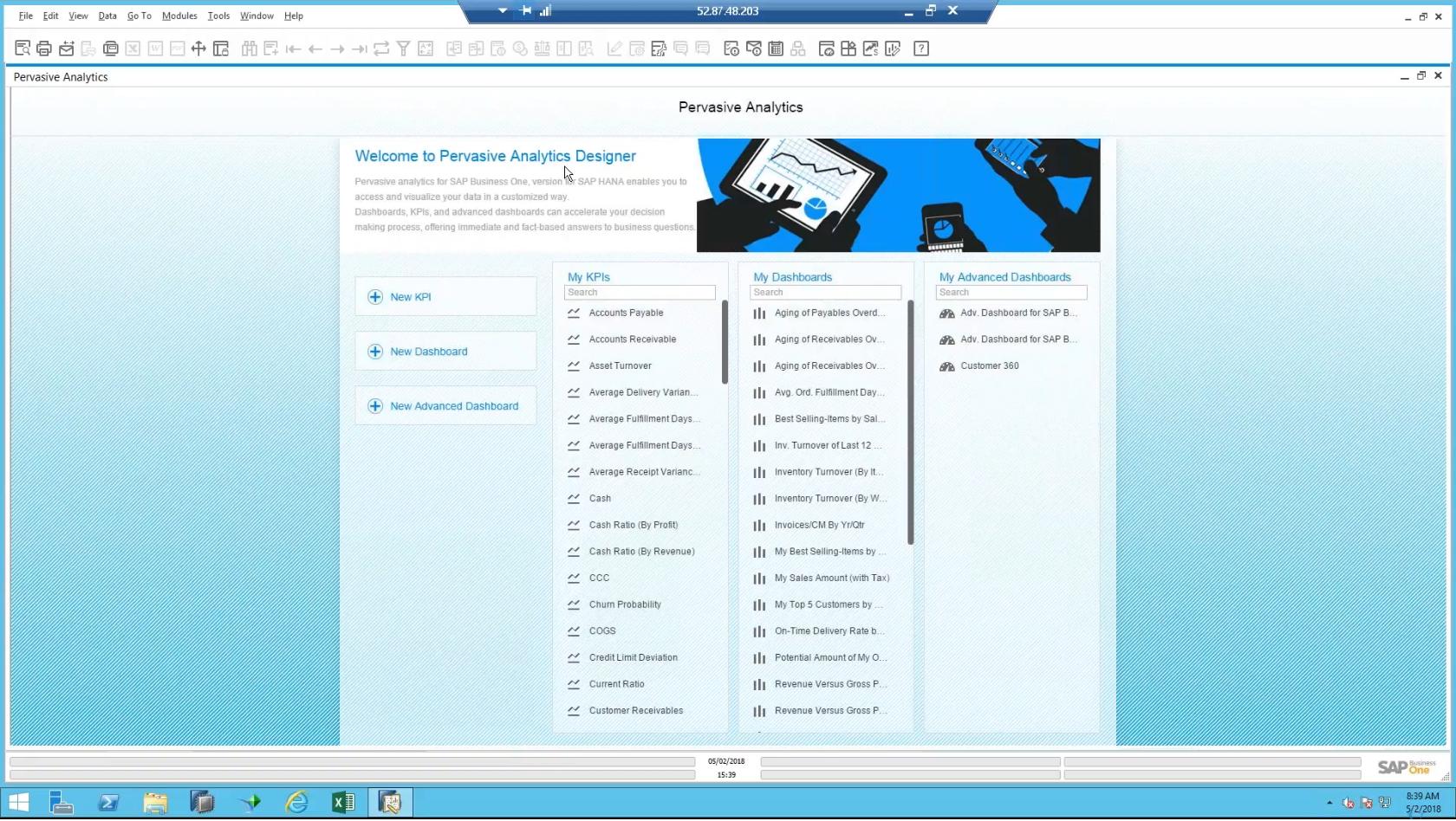 2 Pervasive Analytics Designer Screen