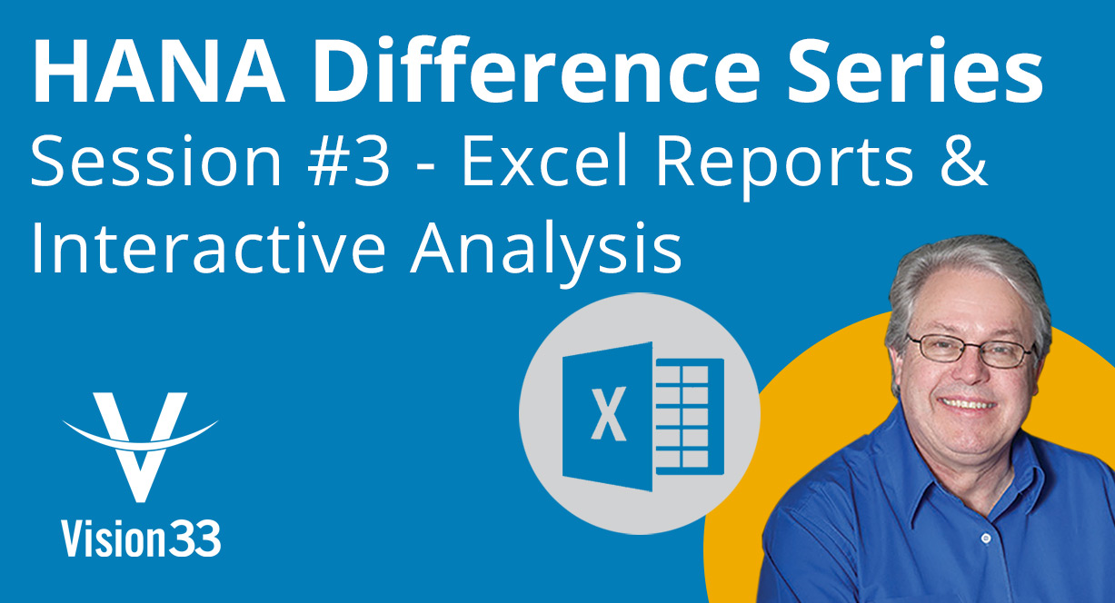 sap hana interactive analysis
