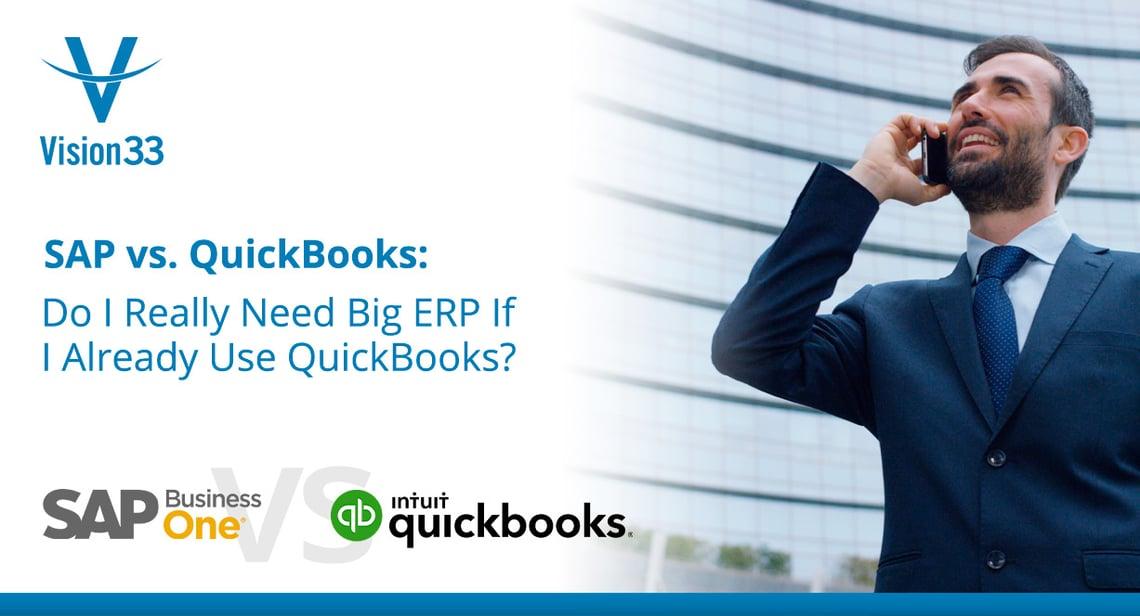 SAP vs. QuickBooks