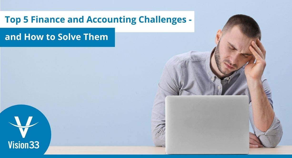 SAP Business One - top 5 finance and accounting challenges
