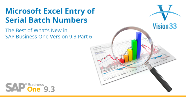 SAP Business One 9.3 Excel Entry of Serial Batch Numbers and Specific Cost-1.png