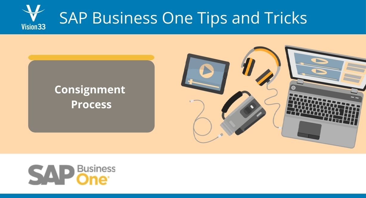 SAP consignment process - tips and tricks
