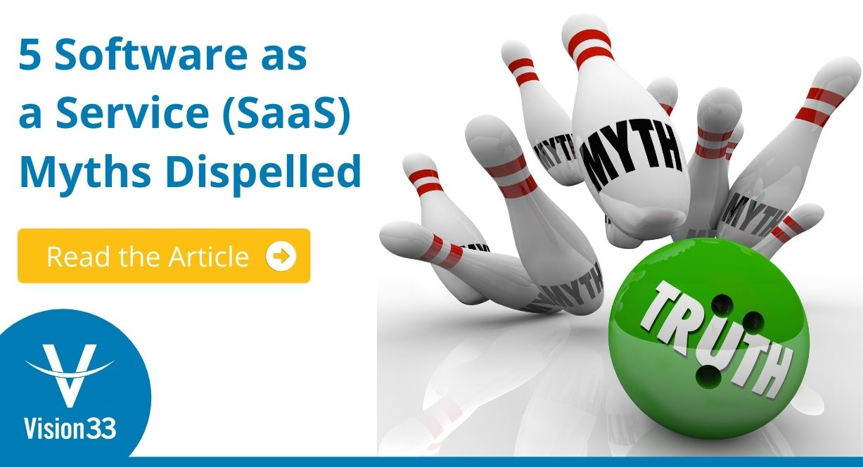 5 Software as a Service Myths Dispelled