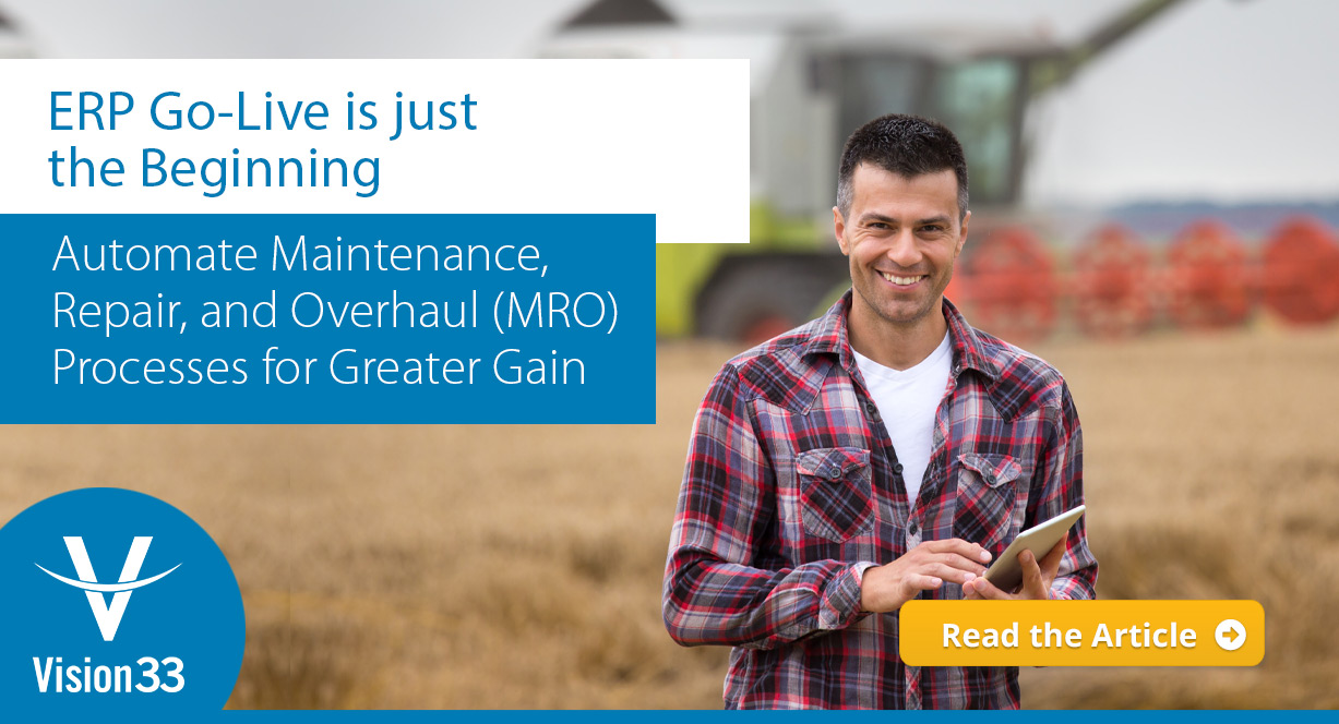 Automate Maintenance, Repair, and Overhaul (MRO) Processes for Greater Gain