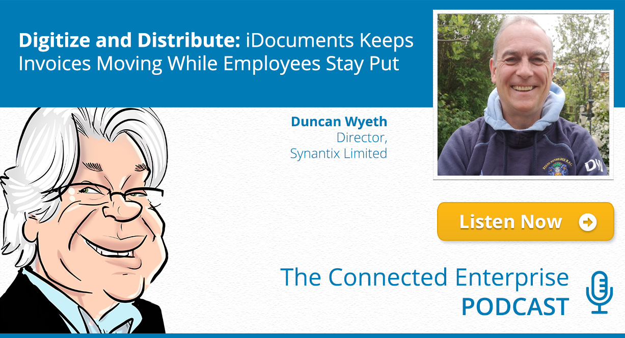 Digitize and Distribute: iDocuments Keeps Invoices Moving While Employees Stay Put