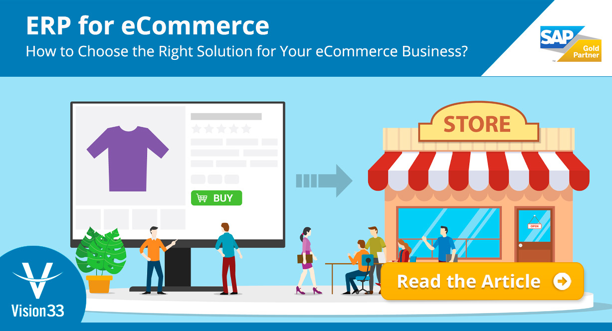 ERP for eCommerce: How to Choose the Right Solution for Your eCommerce Business