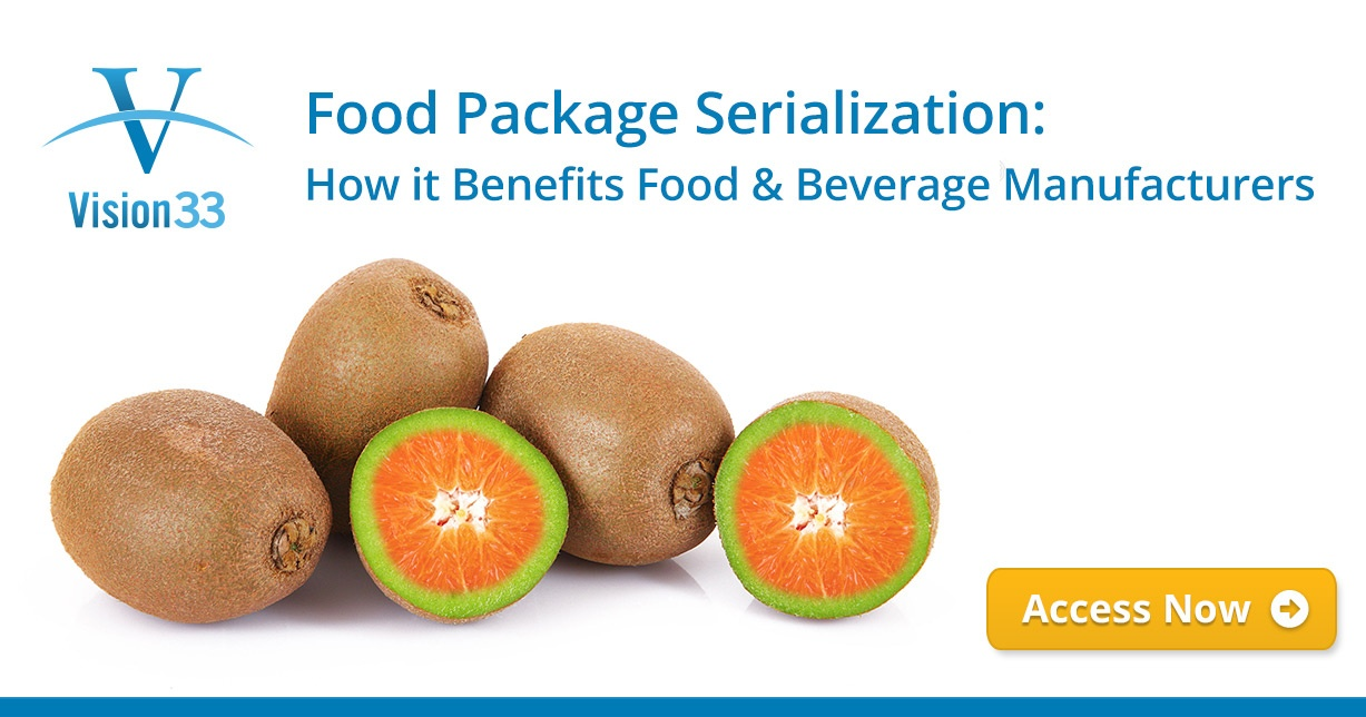 Food Package Serialization: How it Benefits Food & Beverage Manufacturers