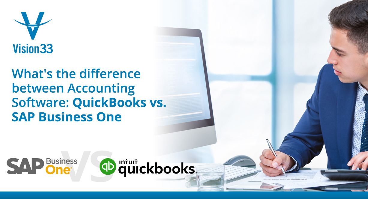 What's the difference between Accounting Software: QuickBooks vs. SAP Business One