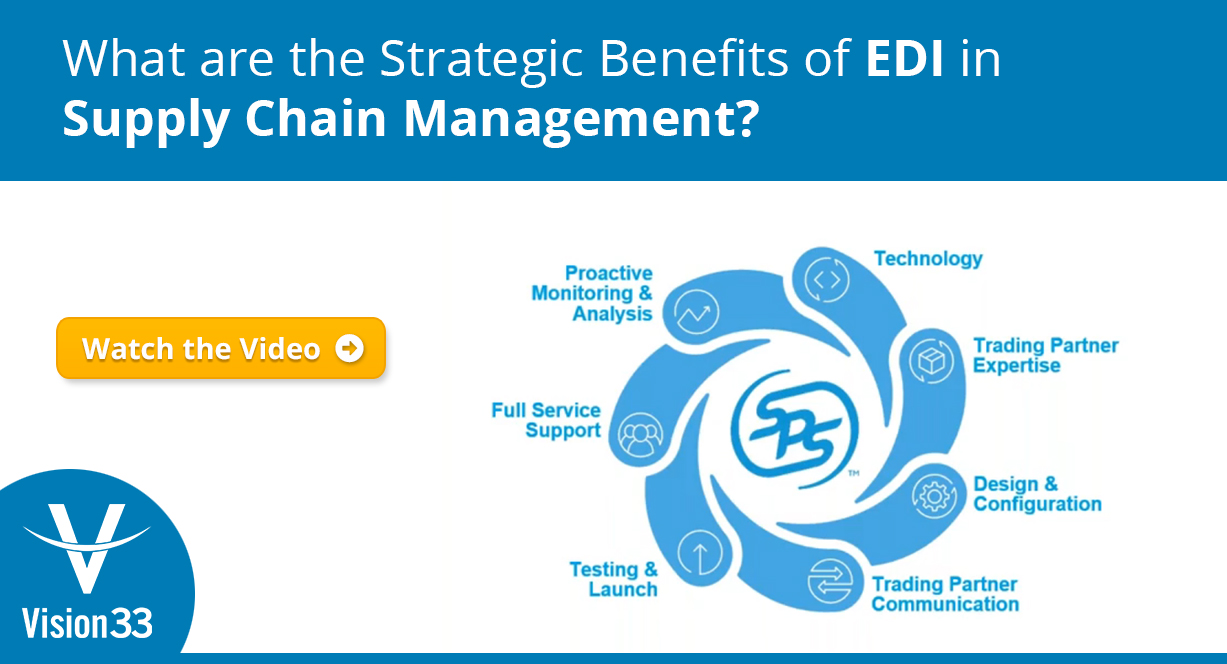 What are the Strategic Benefits of EDI in Supply Chain Management?