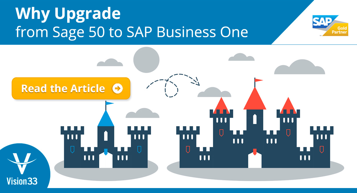 Why Upgrade from Sage 50 to SAP Business One?