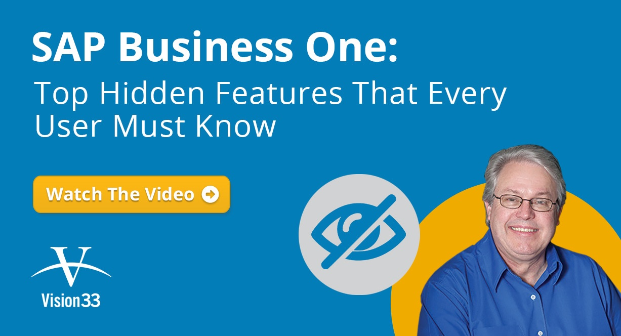 SAP Business One: Top Hidden Features That Every User Must Know