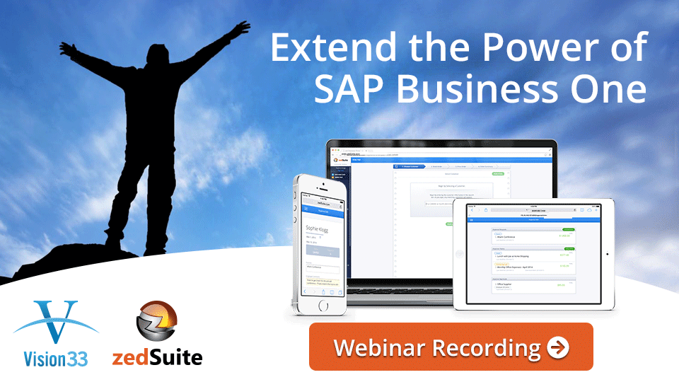Extend the Power of SAP Business One: CRM Made Simple for SAP Business One Users