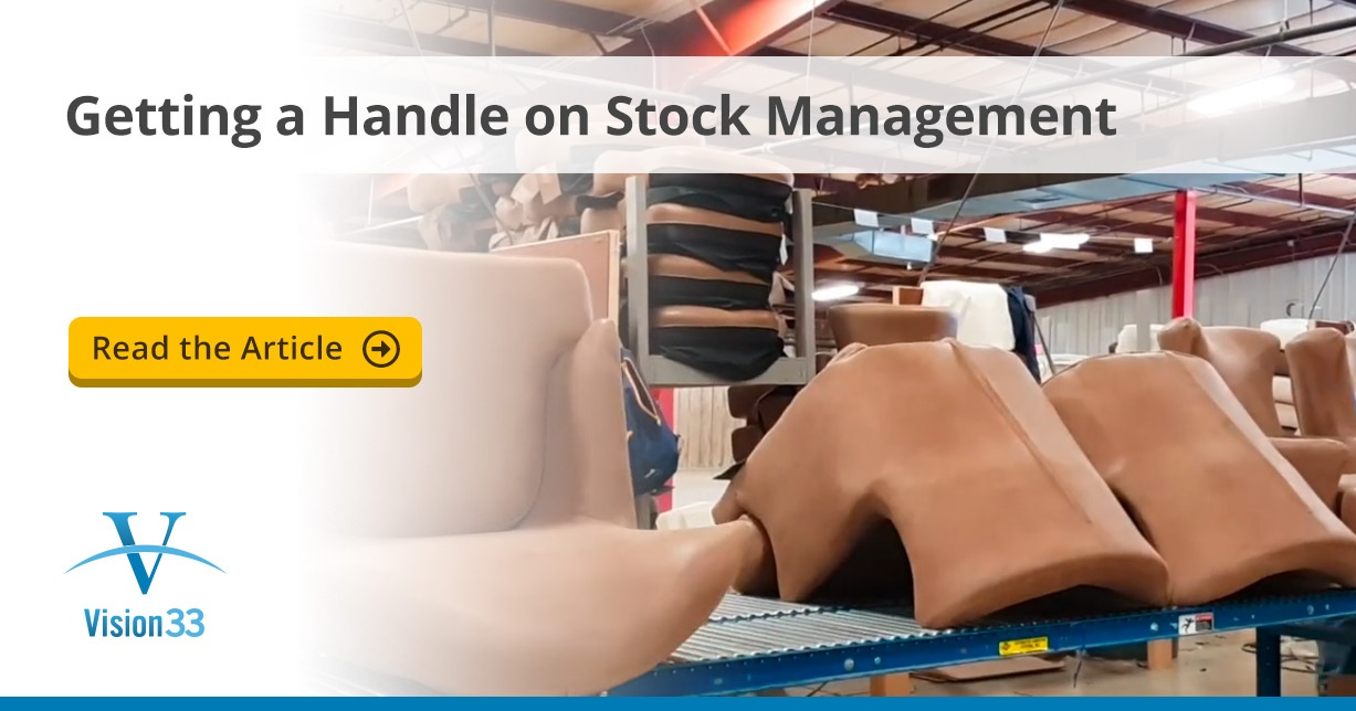 Getting a Handle on Stock Management