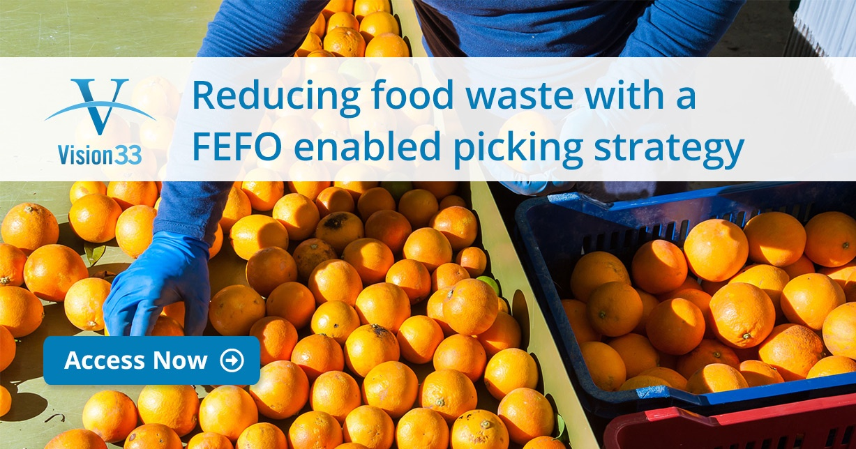Reducing Food Waste With a FEFO Enabled Picking Strategy