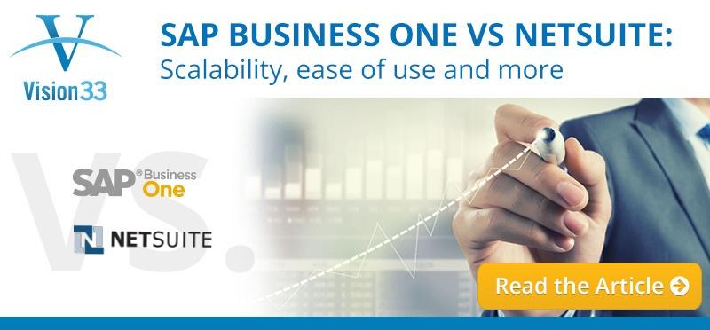 SAP Business One VS NetSuite: A Software Comparison