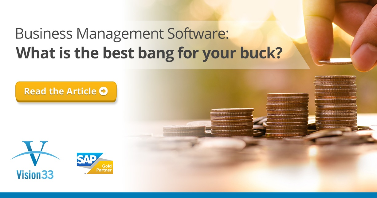 Business Management Software: What's the Best Bang for Your Buck?