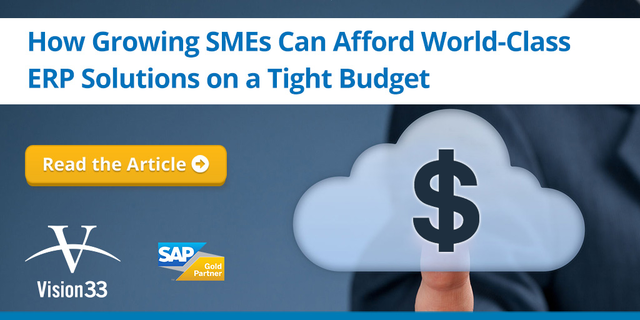 How SMEs Can Afford World-Class ERP Solutions