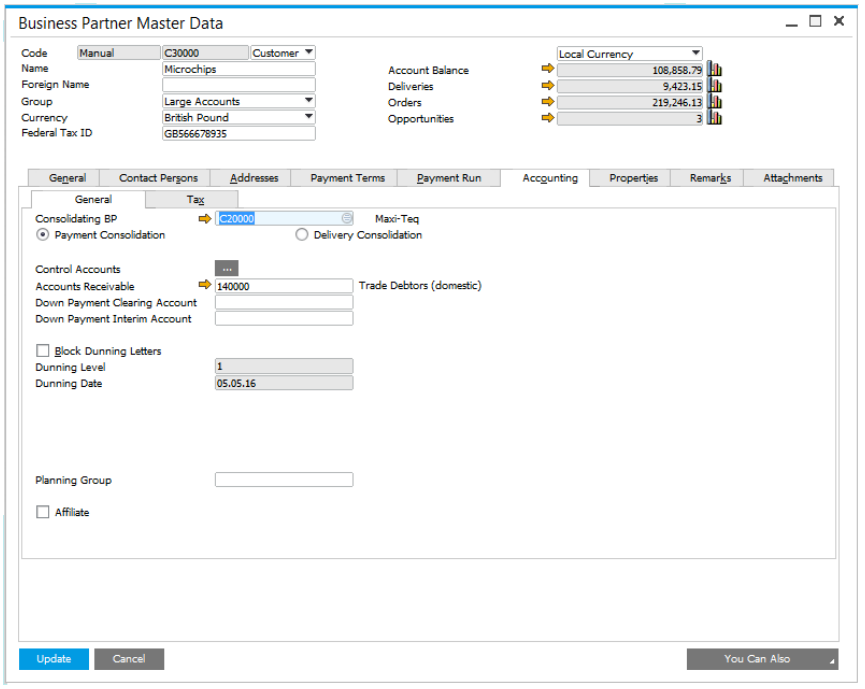 Inventory Management Features in SAP Business One Version 9.2