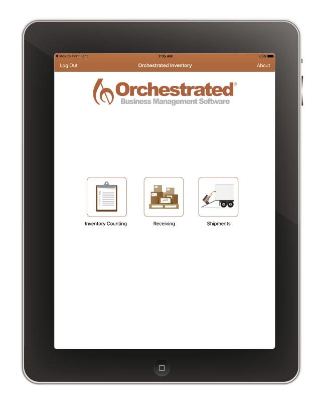 OrchestratedBeer Brewery Inventory App