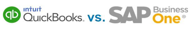 QuickBooks vs. SAP Business One