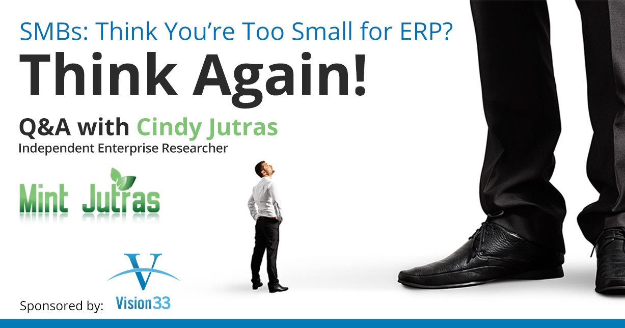 SMBs: Think You're Too Small for ERP? Think Again!