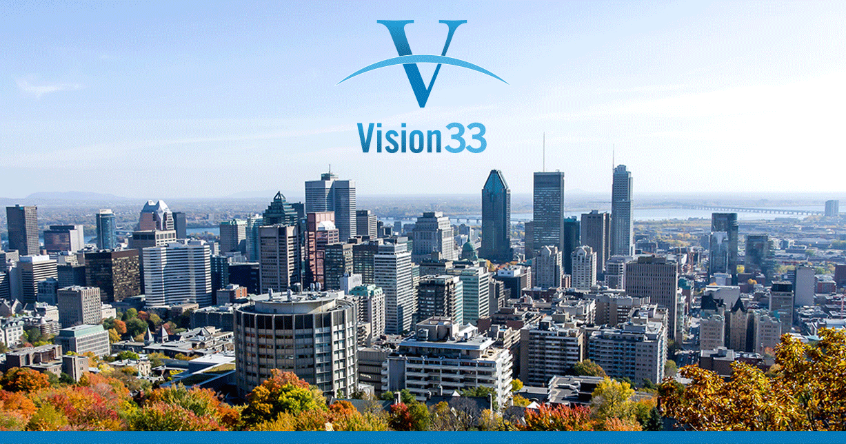 Global SAP Business One Partner, Vision33, Expands Customer Reach with New Office in Montreal, Quebec