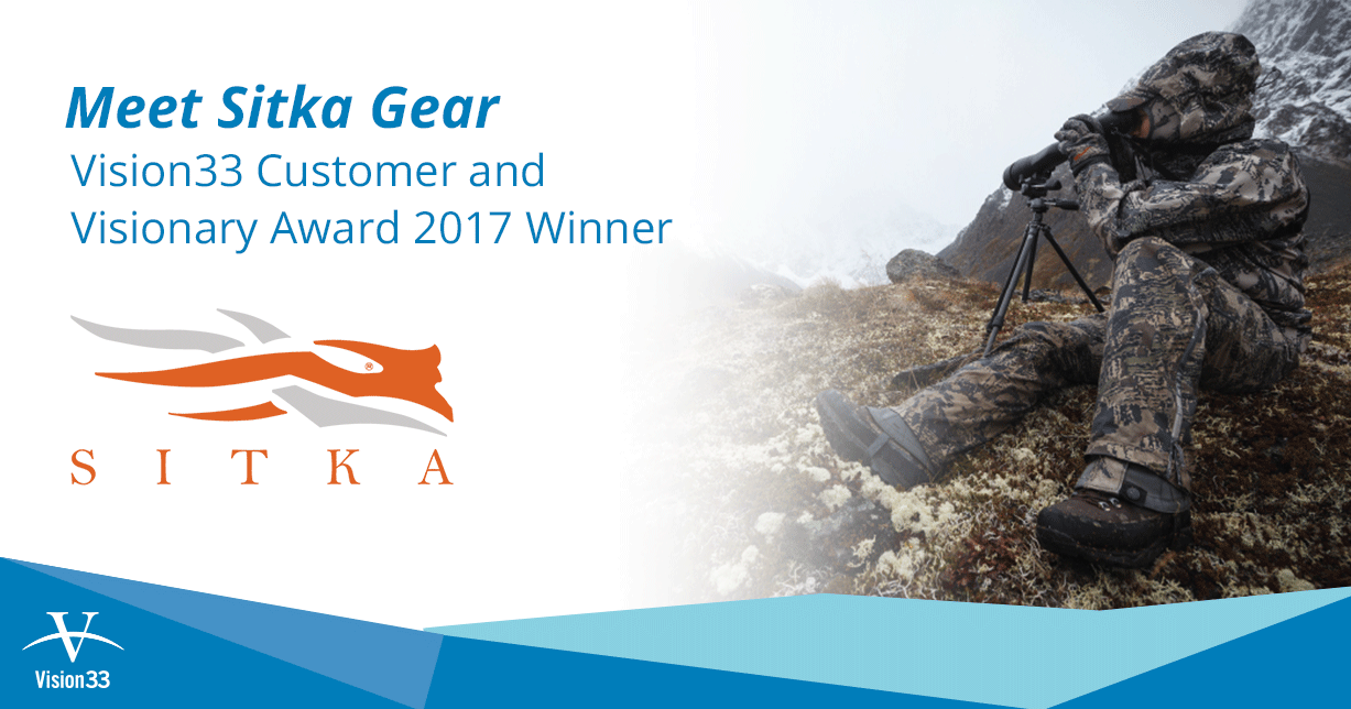 Meet SITKA GEAR: Vision33 Customer and Visionary Award 2017 Winner