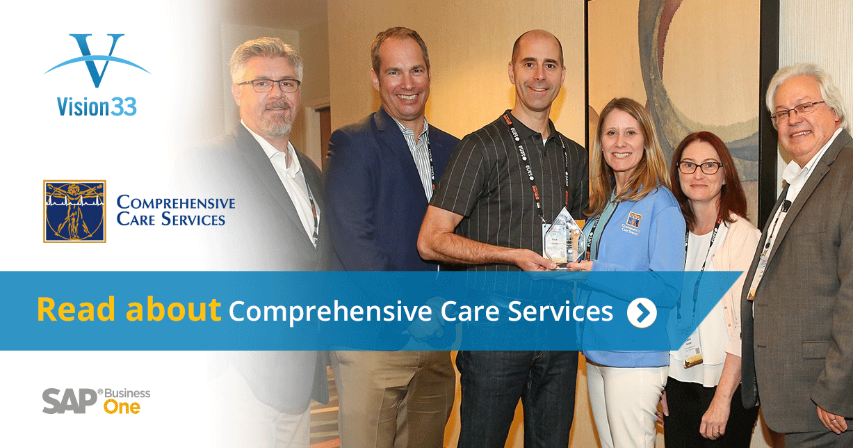 Meet Comprehensive Care Services: Vision33 Customer and Visionary Award 2017 Winner