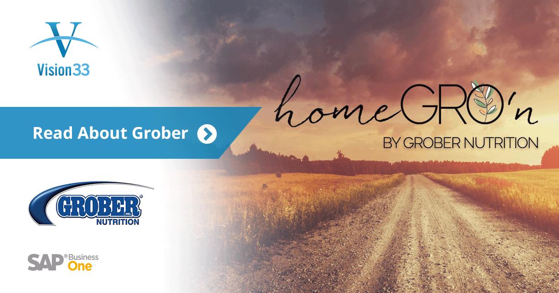 Meet Grober: Vision33 Customer and Visionary Award 2017 Winner
