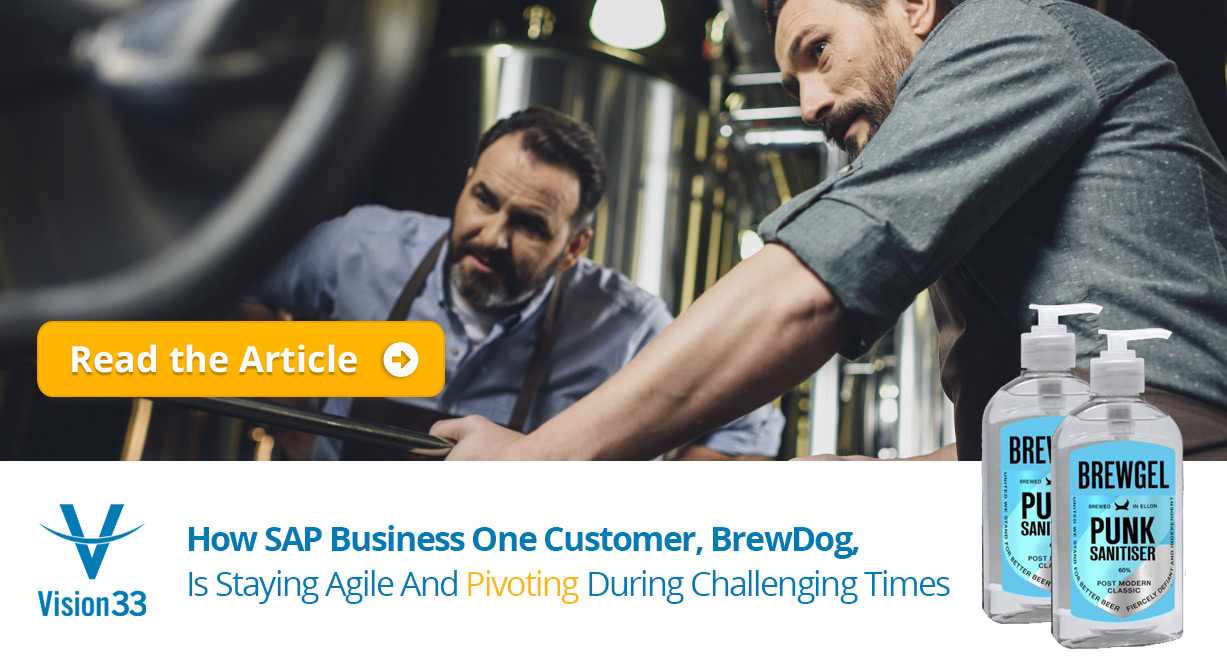 How SAP Business One Customer, BrewDog, Is Staying Agile And Pivoting During Challenging Times