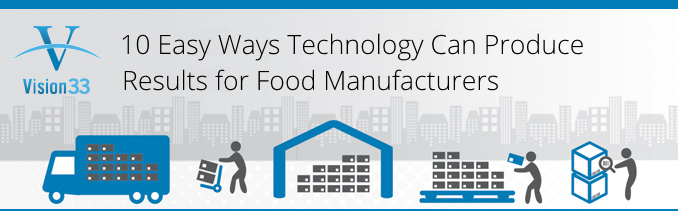 10 Easy Ways Technology Can Produce Results For Food Manufacturers