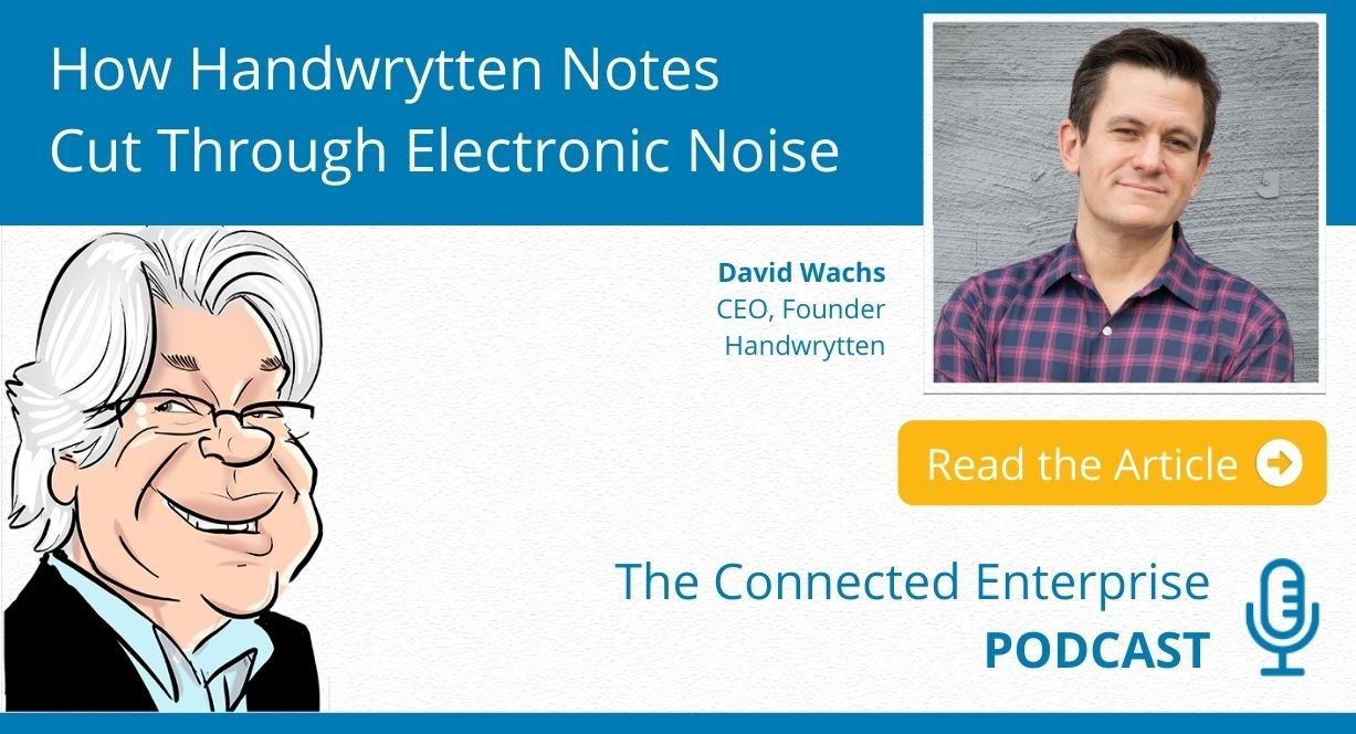 How Handwrytten Notes Cut Through Electronic Noise
