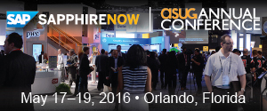Vision33 at SAPPHIRE NOW and ASUG Annual Conference